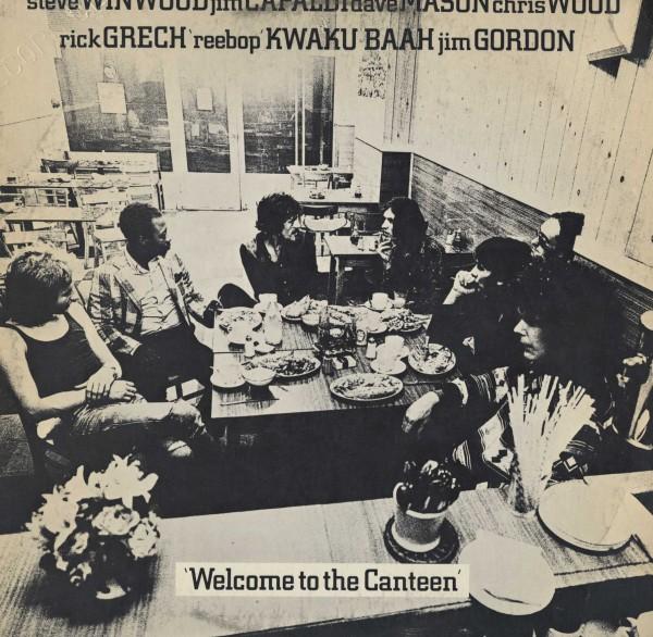 即決(LP)WELCOME TO THE CANTEEN/TRAFFIC *WALTER GIBBONS