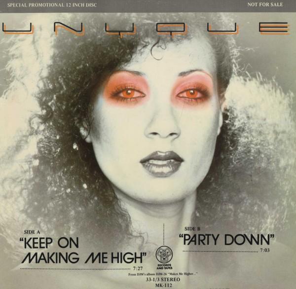 即決(12)KEEP ON MAKIN' ME HIGH/UNYQUE *DANNY KRIVIT