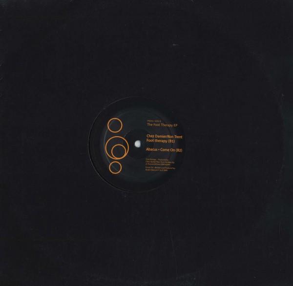 即決(12)THE FOOT THERAPY EP/CHEZ DAMIER-RON TRENT,ABACUS *PRESCRIPTION