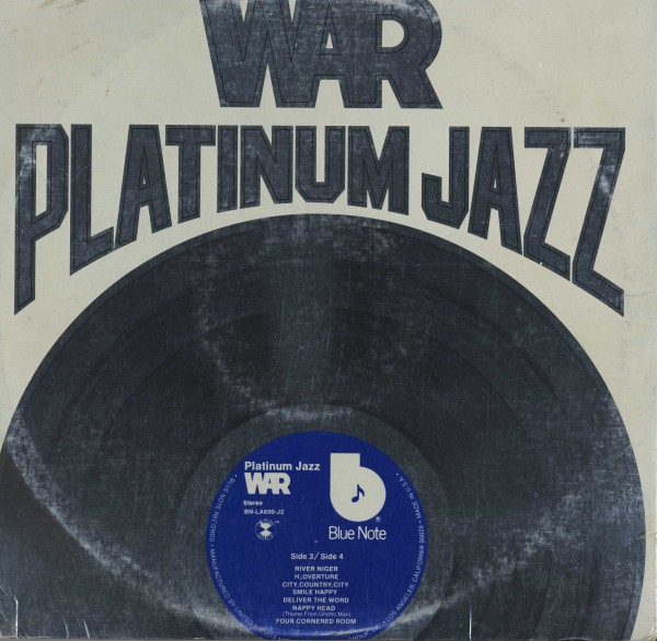 即決(LPX2)PLATINUM JAZZ/WAR *LARRY LEVAN_画像2