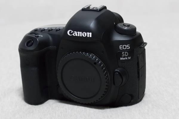 【美品】 CANON キヤノン EOS 5D Mark IV BODY ボディ (MarkⅣ Mark4)