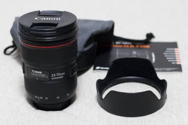 【美品】 CANON (キヤノン) EF24-70mm F2.8L II USM