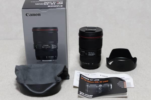 【美品】 CANON (キヤノン) EF16-35mm F4L IS USM