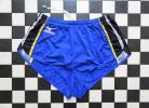 ミズノ MIZUNO ランパン サイズXO 青×黒×黄 D4278