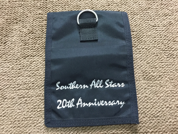 サザンオールスターズ 20周年記念 パスケース チケット入れ ポーチ 社員証入れなどに ライブグッズの画像