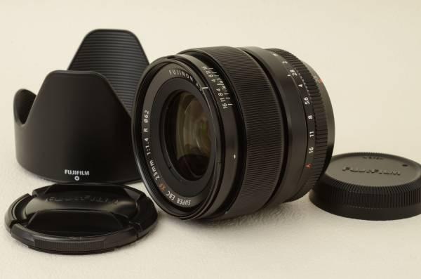 富士フイルム FUJIFILM フジノン SUPER EBC XF 23mm F1.4R フード付き (03-I08)