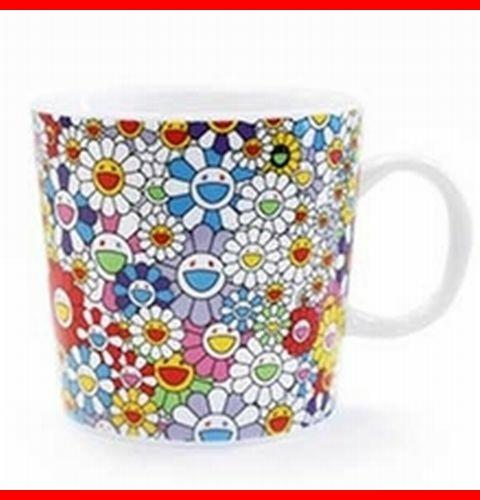 カイカイキキ お花 マグカップ kaikai kiki 村上隆 takashi murakami FLOWER コップ CUP 希少限定品 新品箱付き ゆず イロハ BIGBANG