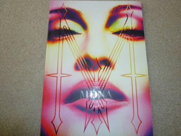 MADONNA マドンナ MDNA TOUR 2012年 ツアー プログラム パンフレット 88ページ ライブグッズの画像
