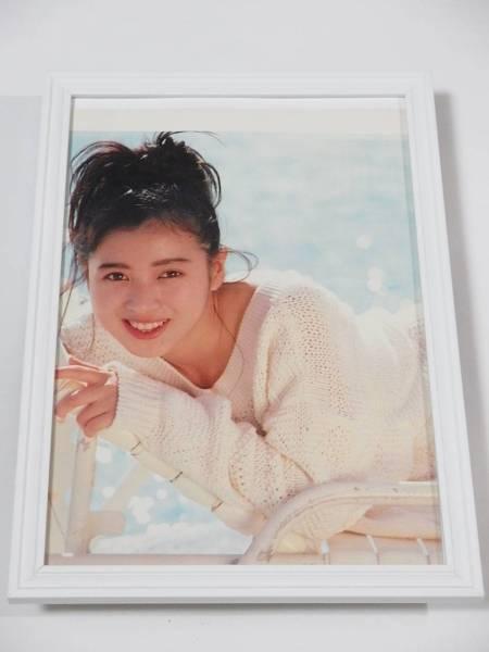 西村知美 額装品 25年前のグラビア 当時希少 送料164円可