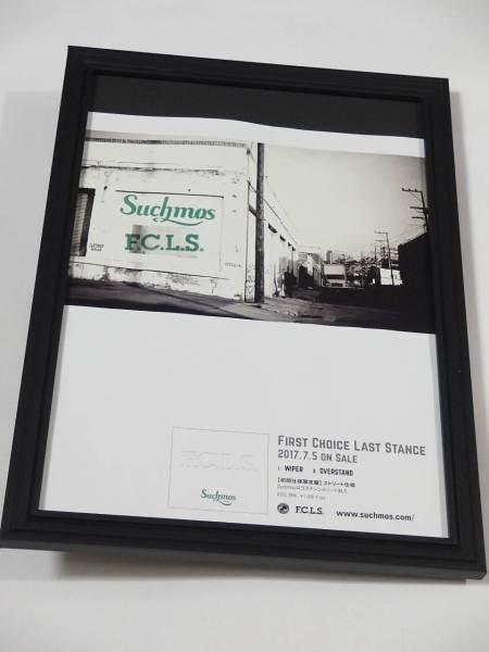 サチモスSuchmos 額装品 FIRST CHOICE LAST STAGE CD広告 送料164円可 同梱可
