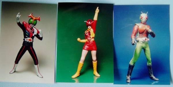 ボークス 東映ヒーローヒストリー 仮面ライダーシリーズ&イナズマン 6個セット 石ノ森章太郎 グッズの画像