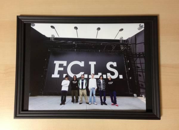 2 サチモス Suchmos F.C.L.S. ★額装品★ 広告 額入り メンバー ( 写真 広告 ポスター アルバム CD DVD ライブ ツアー 夏フェス