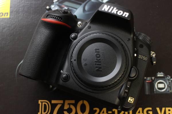 NIKON D750 ボディ 本体 一眼レフカメラ 【極美品 2~3回のみ使用 2017年12月購入】元箱付属品有