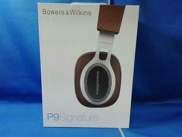 【未使用品】Bowers&Wilkins P9SIG P9 Signature [B&W創立50周年記念モデル] ヘッドホン・イヤホン