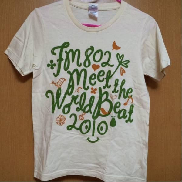 MEET THE WORLD BEAT 2010 Tシャツ S ミートザワールドビート フェス THE BAWDIES andymori KREVA スキマスイッチ チャットモンチー UA ライブグッズの画像