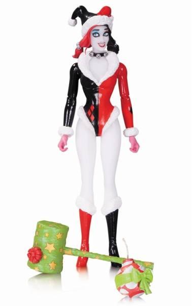 DCコミックス デザイナー/ アマンダ・コナー シリーズ: ハーレイ・クイン 6インチ アクションフィギュア ホリデー ver グッズの画像