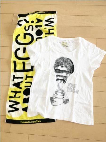 フランプール flumpool ライブTシャツSサイズ タオル 2016年 ライブグッズの画像