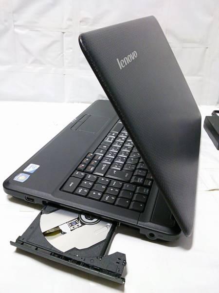 ◇整備済PC/Windows7 32bit Lenovo G550 2コア Celeron Dual-Core T3300 2.00GHz 2GB 320GB DVDハイパーマルチ Webカメラ 無線 即使用◆_画像3