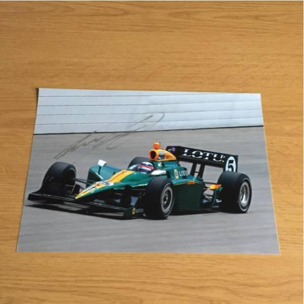 インディドライバー 元F1 佐藤琢磨選手直筆サイン入写真