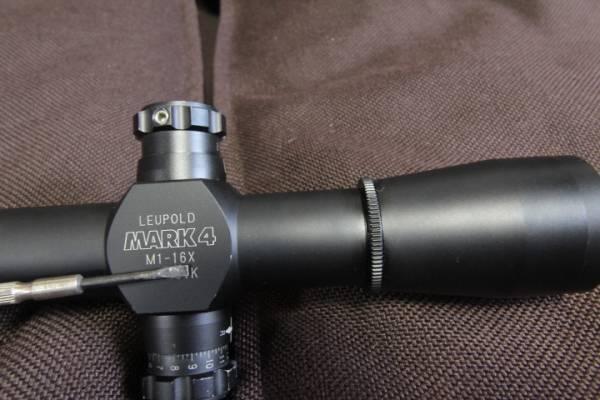 ■実物レアスコープ■ LEUPOLD MARK4 M1 16X40 ◆検索:リューポルド M40 M24 M700 マクミラン トレポン PVS アサヒ 狙撃_画像2