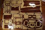 トヨタ アリスト 1997~2001 ウッド調インテリアパネル24点セット 長期在庫品