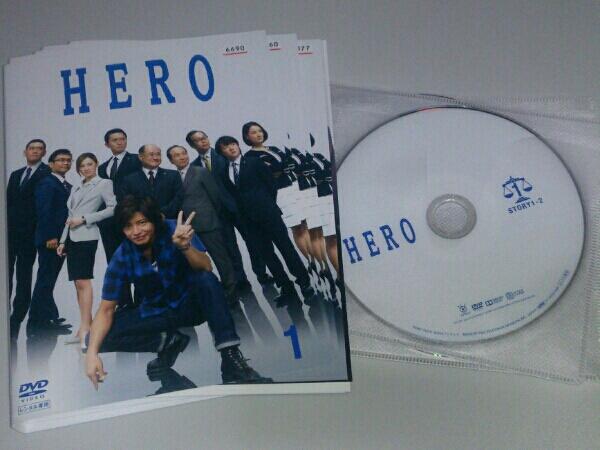 HERO 2014 木村拓哉 北川景子 全6巻 + 劇場版 計7巻 グッズの画像
