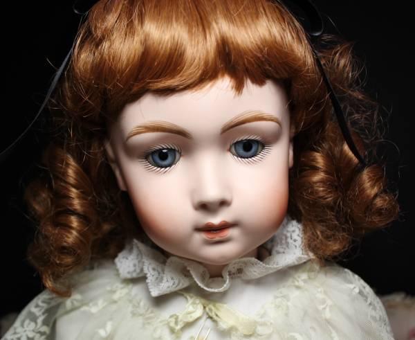 秀作 ジュモートリステ アンティークリプロ 68㎝ 作家様1点もの/大きな人形 美術品 フラ