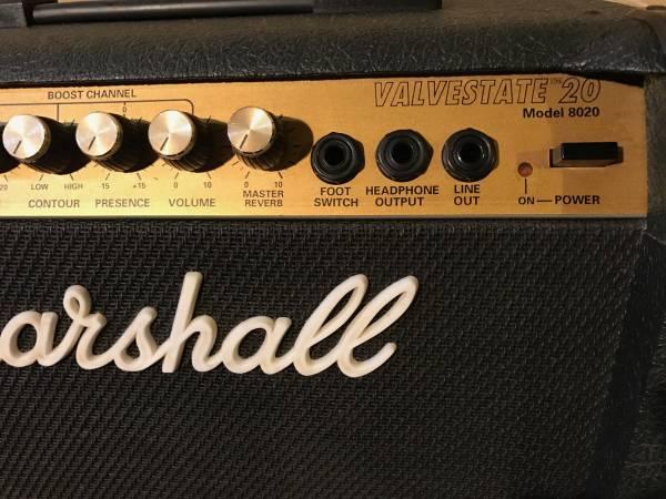 動作品 marshall valvestate 8020 英国製
