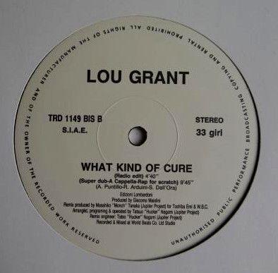 """【 国内プロモ・オンリー仕様 12"""" 】LOU GRANT / What Kind Of Cure 【 恋のメディスン / ルー・グラント 】_画像3"""