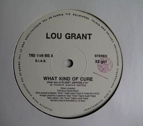 """【 国内プロモ・オンリー仕様 12"""" 】LOU GRANT / What Kind Of Cure 【 恋のメディスン / ルー・グラント 】_画像2"""