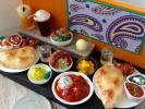 【ミニチュア常夏のインドカレー屋さん】ハンドメイド フェイクフード 食品サンプル ドールハウス