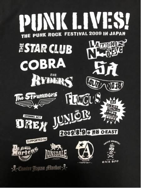 PUNK LIVES! 2009 記念Tシャツ デッドストック サイズS LONSDALE