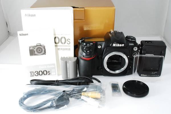 ◆人気良品◆Nikon ニコン D300s ボディ ◆元箱、説明書他 付属充実♪ Y-22J617370-81