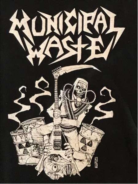 Municipal Waste Tシャツ Mサイズ