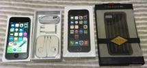docomo iPhone5s 64GB スペースグレイ 超美品 箱あり 付属品完備 おまけケース付き 送料無料