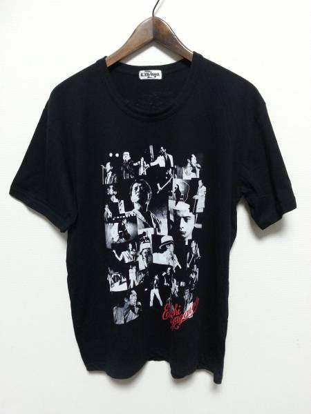 矢沢永吉 フォト Tシャツ ブラック