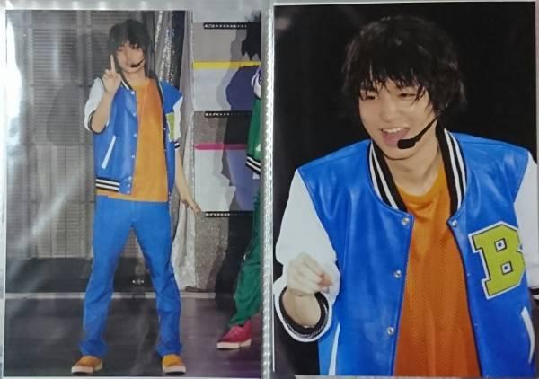 Hey!Say!JUMP 伊野尾慧・岡本圭人 生写真 JUMPing CARnival  3枚 スカジャン コンサートグッズの画像