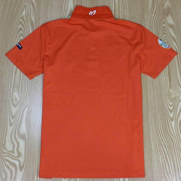 PEARLYGATES パーリーゲイツPG半袖ポロシャツ 0900オレンジ L/5サイズ_画像2