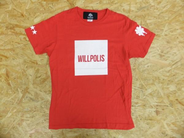 BUMP OF CHICKEN バンプオブチキン WILLPOLIS 2014 ライブツアーTシャツ 赤 M