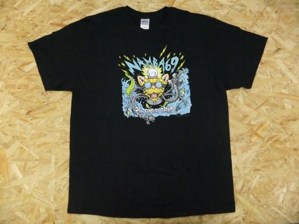 NAMBA69 ナンバシックスティーナイン 難波章浩 パンクロック バンド 21st CENTURY DREAMS Tシャツ 黒 XL ハイスタ