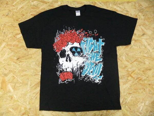 NO NUKES ノーニュークス 坂本龍一 脱原発 ロックフェスイベント Tシャツ 黒 XL ドクロ