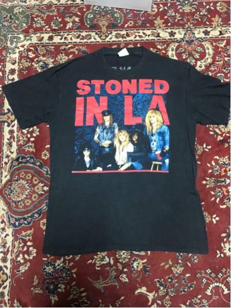 GUNS N' ROSES × The Rolling Stones ツアーTシャツL☆ロックTガンズアンドローゼス