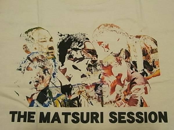 新品 希少Lサイズ ZAZEN BOYS THE MATSURI SESSION 限定Tシャツ ザセンボーイズ 向井秀徳 ナンバーガール