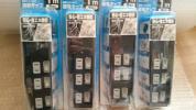 Other - 635 個別 スイッチ 付き 節電 タップ 3個口 1m 4個セット 絶縁カバー スイング プラグ 雷サージ アダプタースペース まとめ買い