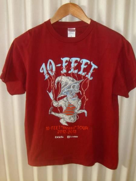 10-FEET Subciety コラボ 2012 2013 ツアーTシャツ M サブサエティ ライブグッズの画像
