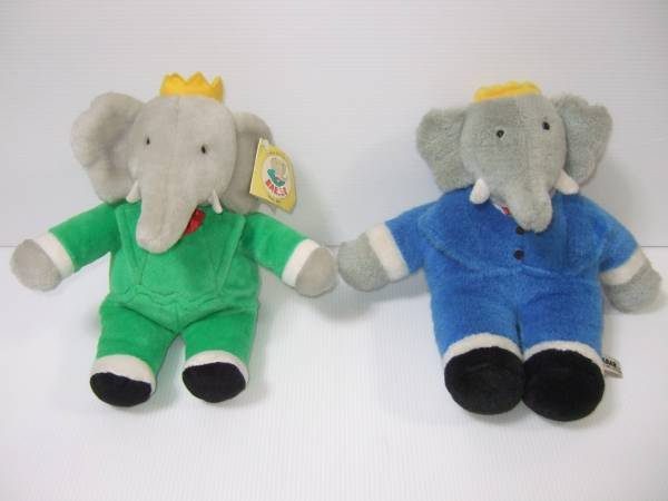 Babar Babar The Elephant Soft Toy Music Box Real Yahoo Auction Salling