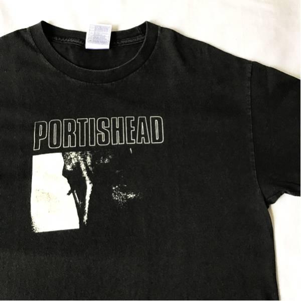 90s PORTISHEAD Tシャツ ビンテージ ポーティスヘッド MASSIVE ATTACK LAMB TRICKY STONE ROSES BLUR NIRVANA SMITHS PJ HARVEY レッチリ