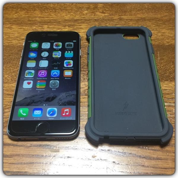 au☆ほぼ未使用☆iPhone6☆128GB☆スペースグレー☆MG4A2J/A☆☆判定〇☆