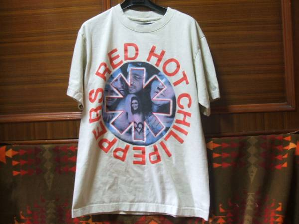 EXILE登坂着 USA購入 RED HOT CHILI PEPPERS レッチリ Tシャツ検90sビンテージ レイジ nirvana カニエウエストfog fear of god 30s 40s 50s