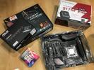 [中古]CPU・マザボ・電源セット i7-6850K・ASUS ROG STRIX X99 GAMING・ThunderboltEX3・新品電源「SilverStone 750W ST75F-ESS」